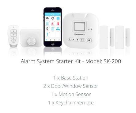 kit alarma inalambrica sk200