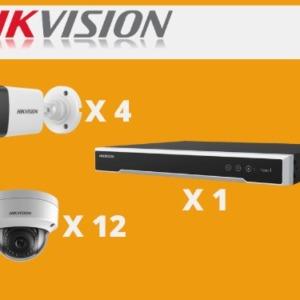 kit hikvision 16 camaras