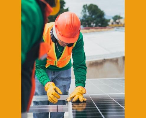 muestra instaladores de energía solar